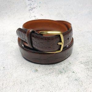 COACH • Leather Belt